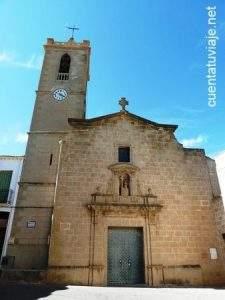 parroquia de santa maria magdalena benitachell