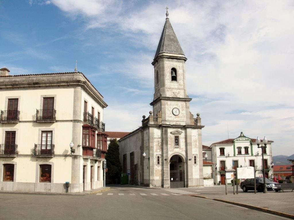 parroquia de santa maria muros de nalon