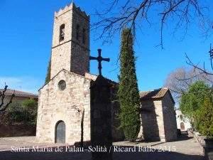 Parroquia de Santa Maria (Palau-Solità i Plegamans)
