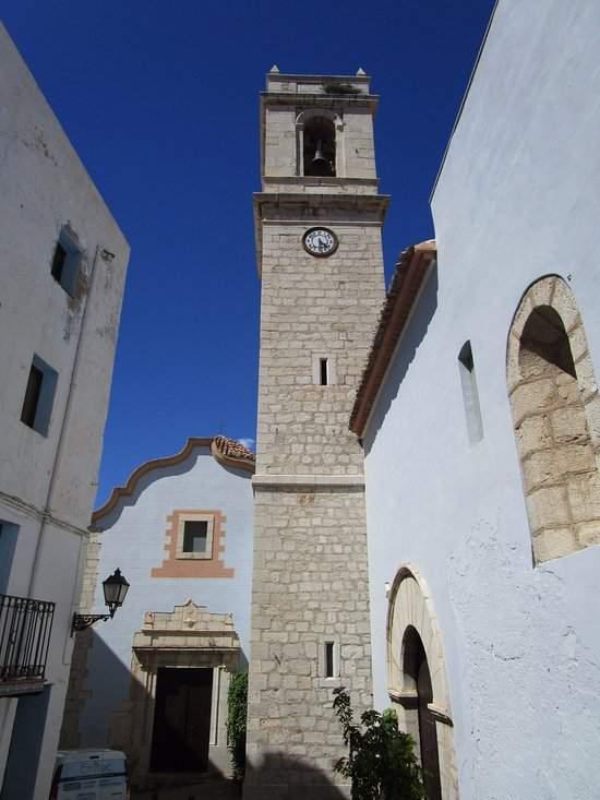 parroquia de santa maria peniscola
