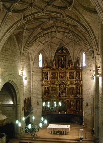 parroquia de santa maria sadaba