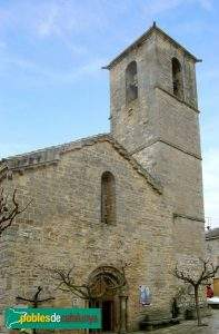 parroquia de santa maria vallfogona de riucorb