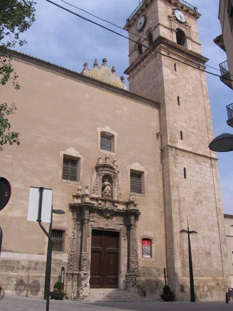parroquia de santa maria villena