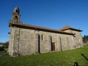 parroquia de santa marina da insua ponte caldelas