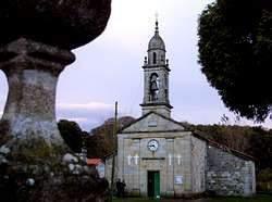 Parroquia de Santiago Apóstol de Sísamo (Carballo)