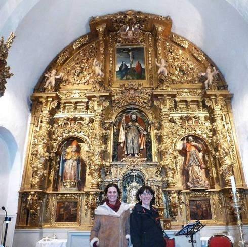 parroquia de santiago apostol navas de oro