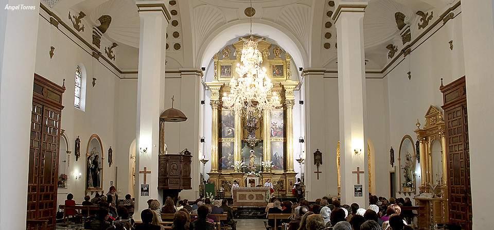 parroquia de santiago apostol valdepenas de jaen