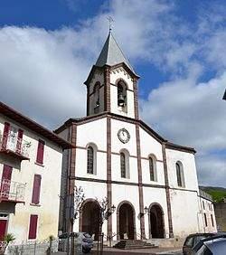 parroquia de santiago luzaide