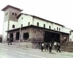 Parroquia de Santo Cristo Gurutzeaga (Ayete-Aiete) (Donostia)