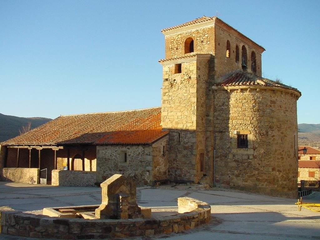 parroquia de santo domingo de silos pradena del rincon