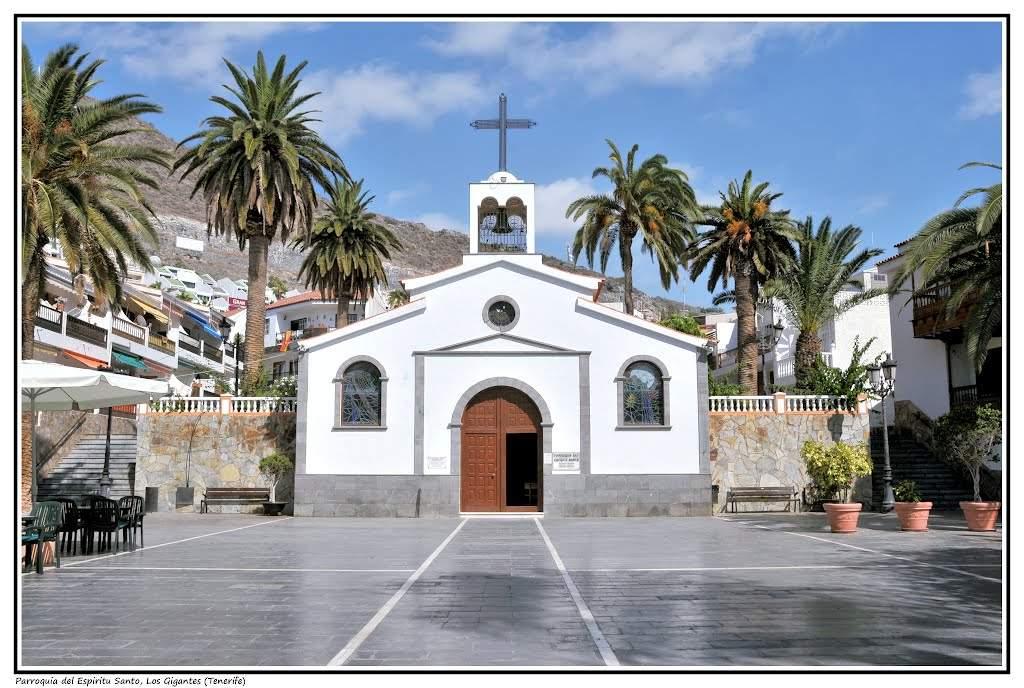 parroquia del espiritu santo los gigantes puerto de santiago