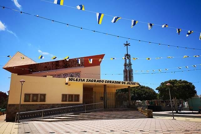 parroquia del sagrado corazon de jesus balos santa lucia de tirajana