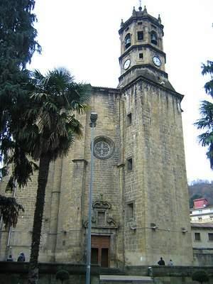 parroquia del salvador eibar