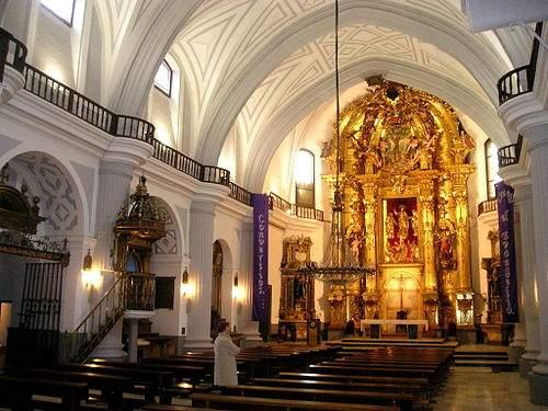 parroquia del santisimo salvador simancas