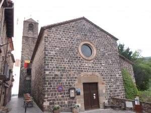 parroquia del santissim salvador castellfollit de la roca