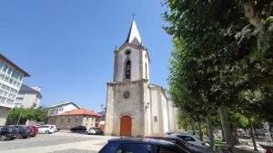parroquia del santo cristo a pobra de trives