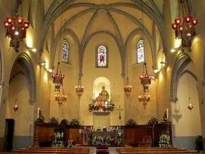 parroquia dels sants just i pastor sant just desvern
