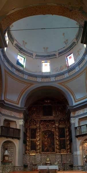 parroquia san miguel arcangel villafranca de ebro