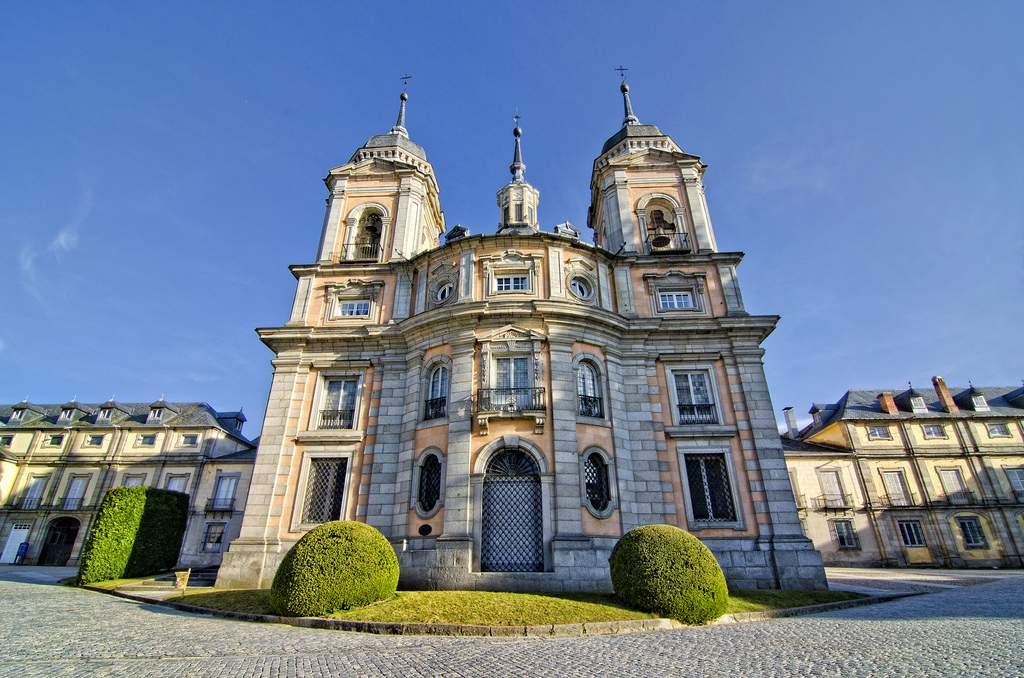 real colegiata de la santisima trinidad capilla real san ildefonso