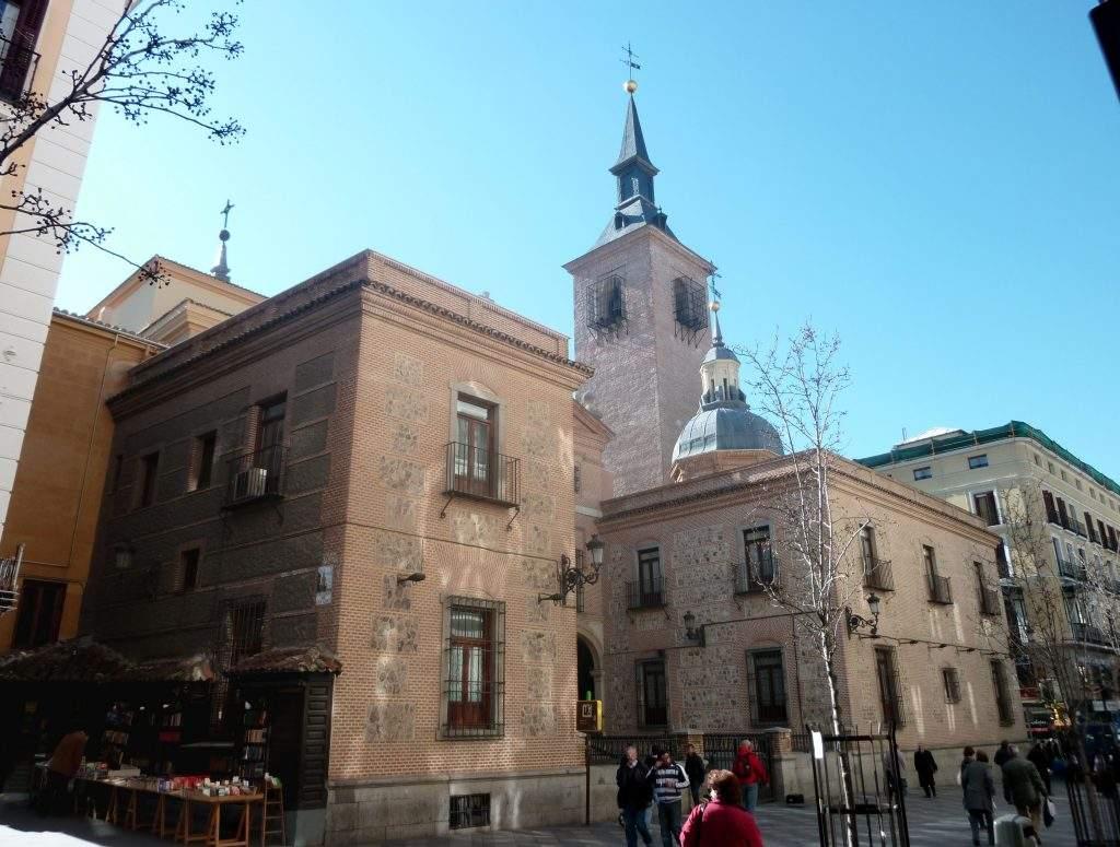 real iglesia parroquial de san gines madrid