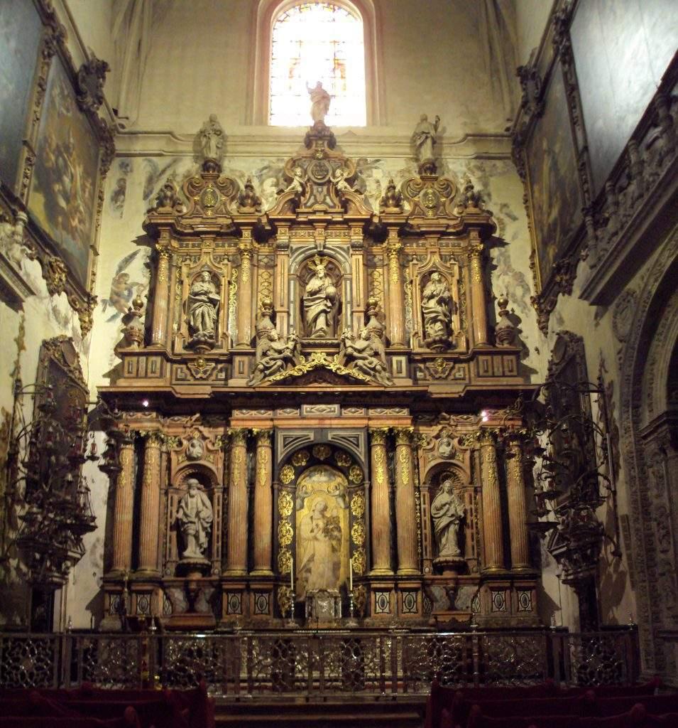 santa iglesia catedral capilla de la virgen de la antigua sevilla