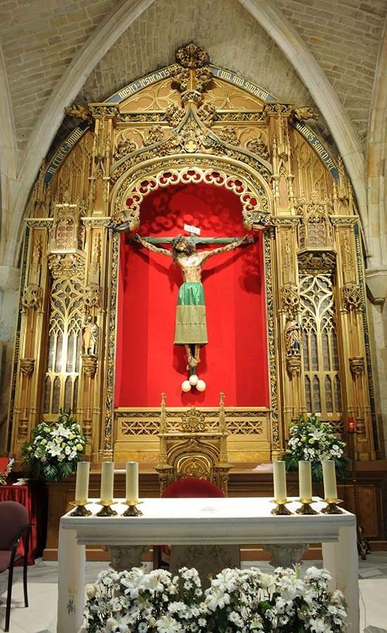 santa iglesia catedral capilla del santo cristo burgos