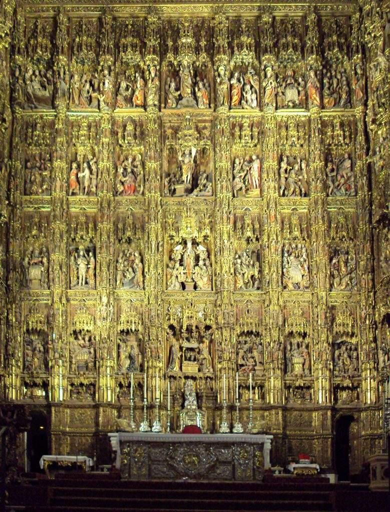 santa iglesia catedral capilla mayor sevilla