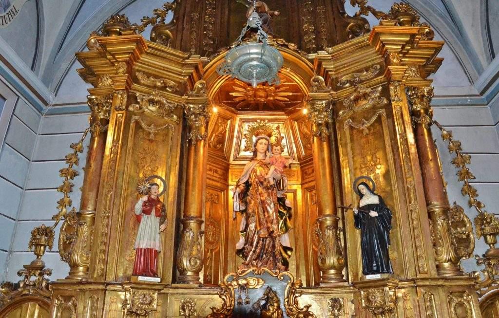 santuari de la mare de deu del vinyet sitges