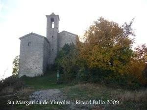 Santuari de Santa Margarida de Vinyoles de Portavella (Les Llosses)