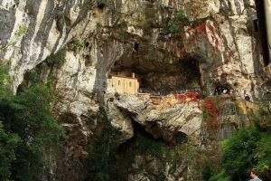 santuario de covadonga santa cueva covadonga