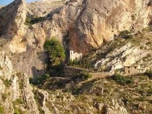 santuario de la virgen del agua castellote castellote