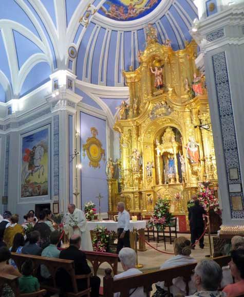 santuario de la virgen del molino santa eulalia del campo