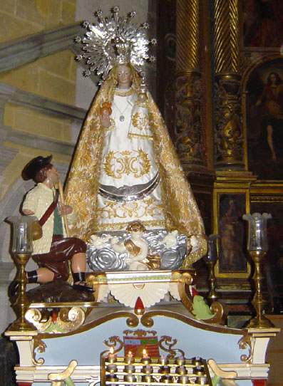 santuario de la virgen del tremedal tronchon