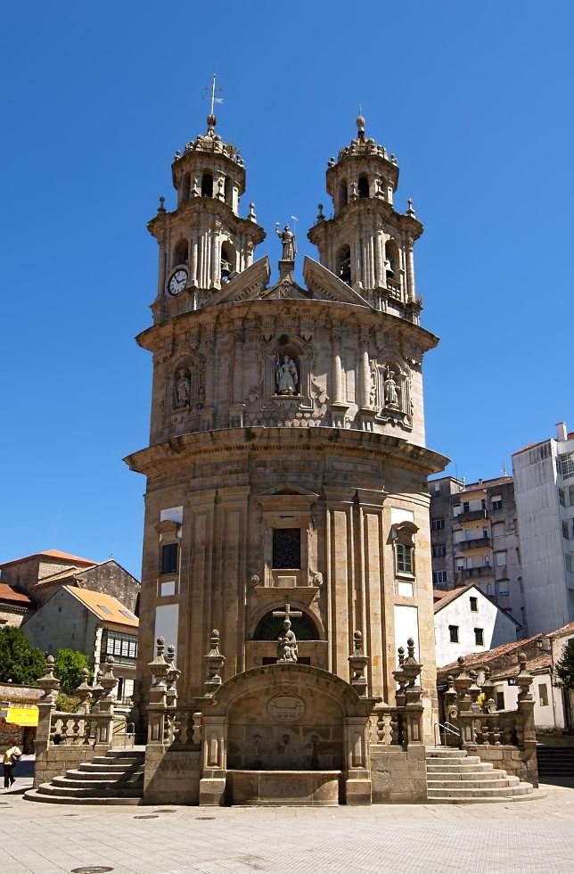 santuario de la virgen peregrina pontevedra