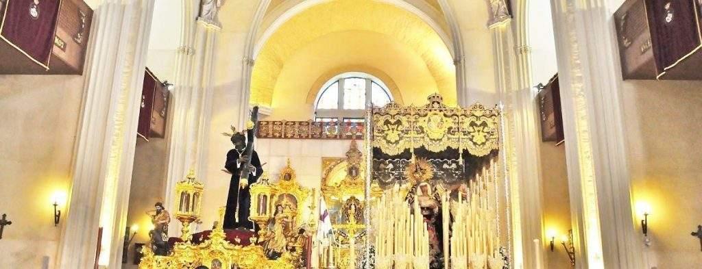 santuario de nuestro padre jesus de la salud y la virgen de las angustias los gitanos sevilla