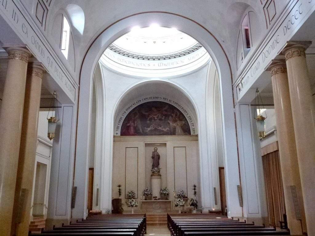 santuario del inmaculado corazon de maria madrid