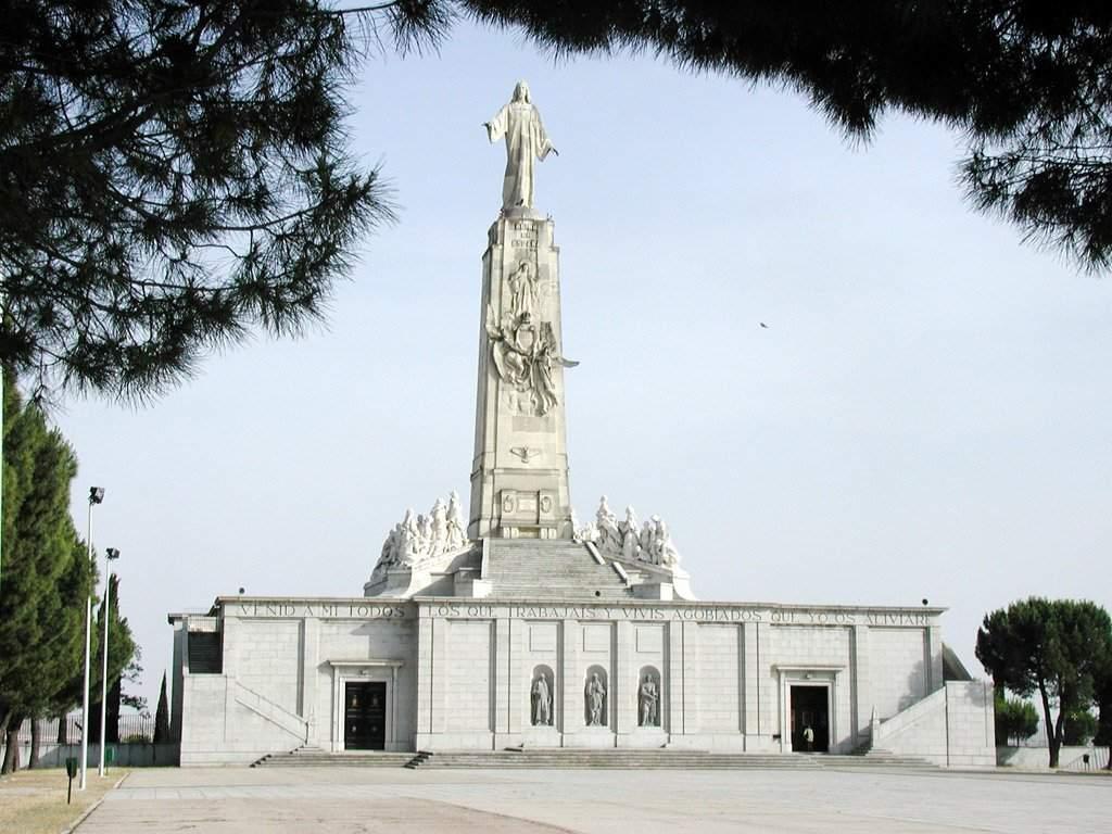 santuario del sagrado corazon de jesus del cerro de los angeles getafe