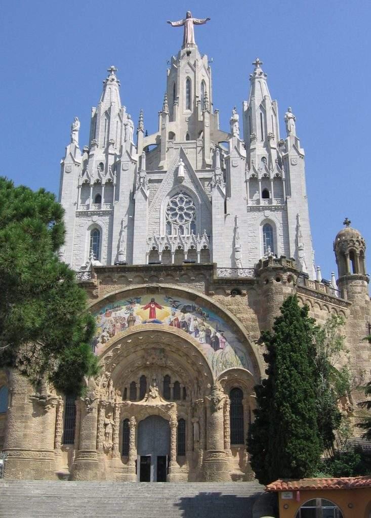 templo expiatorio del sagrado corazon de jesus del tibidabo salesianos barcelona