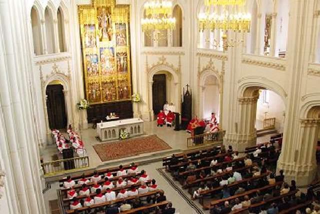 universidad pontificia de comillas capilla de cantoblanco madrid